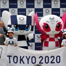 Japonija pakrikštijo 2020 metų olimpinių žaidynių talismanus