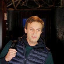 """A. Navalnui gresia baudžiamieji kaltinimai """"šmeižtu"""""""