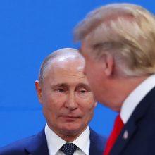 Kremlius: kvaila teigti, kad D. Trumpas yra rusų agentas