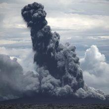 Indonezijoje vėl išsiveržė ugnikalnis