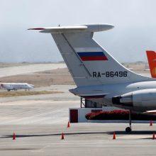 Venesueloje pastebėtas Rusijos lėktuvas: Maskva dislokavo karius?