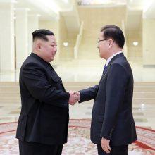 Šiaurės Korėja galėtų atsisakyti savo branduolinio arsenalo?