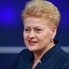 Prezidentės vizitas JAV: dėmesys saugumui, moterų lyderystei ir litvakų paveldui