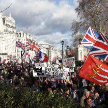 """ES teismas: Britanija turi teisę vienašališkai stabdyti """"Brexit"""""""