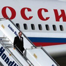 Estijos oro erdvę pažeidė Rusijos lėktuvai: viename galėjo būti V. Putinas