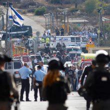 Vakarų Krante palestinietis nušovė tris izraeliečius