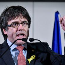 Katalonų separatistai susitarė regiono prezidentu perrinkti C. Puigdemontą
