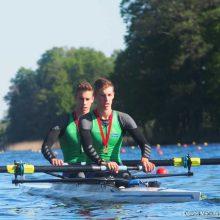 Lietuvos irkluotojai pateko į Europos jaunių čempionato finalą