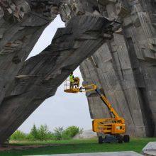 Mokslininkai ieško būdų, kaip išsaugoti IX forto paminklą