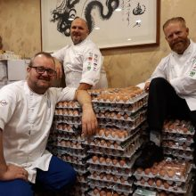 Norvegų olimpiečių virėjus pribloškė 15 tūkst. kiaušinių siunta
