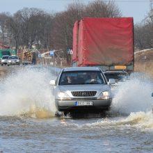 Rusnės gyventojus kamuoja vienas ilgiausių potvynių nuo nepriklausomybės atgavimo
