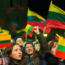 Gyvenimas Lietuvoje vertinamas geriau nei prieš metus