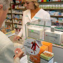 Farmacijos sektoriaus laukia net trys naujovės