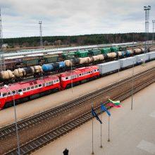 Tapti traukinių iš Kinijos tranzito šalimi Lietuvai sekasi sunkiai