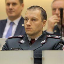 L. Pernavas: policija pasirengusi duoti atkirtį