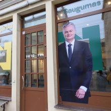 Kova dėl prezidento posto: G. Nausėda surinko 20 tūkst. rinkėjų parašų