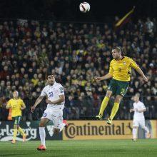 Futbolininkas G. Freidgeimas: mano svajonė buvo žaisti Lietuvos rinktinėje