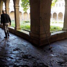 Dauguma Ispanijos kurortų užtvindyti per galingą audrą