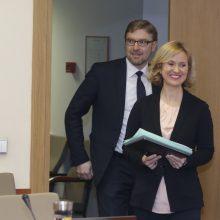 Po skandalo iš pareigų traukiasi L. Kukuraičio atstovė spaudai
