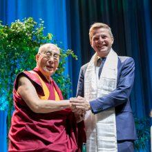 Vilniuje viešintis Dalai Lama: šis amžius turi tapti taikos amžiumi