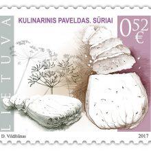 Lietuviškas varškės sūris po pasaulį keliaus pašto ženklais