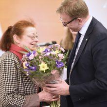 Užsienio reikalų ministerijoje pagerbtas Holokausto aukų atminimas