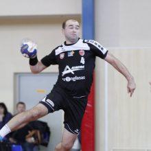 Penktąsias pergales vyrų rankinio lygoje iškovojo Klaipėdos ir Alytaus klubai
