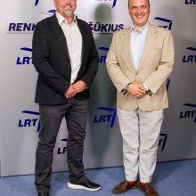 LRT televizijos sezono pristatyme – pažadai stipriai atsinaujinti