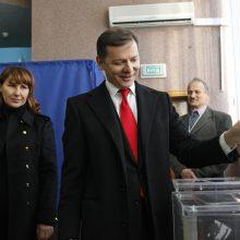 Ukrainos parlamente iš koalicijos pasitraukė O. Liaško radikalai