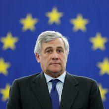 EP pirmininkas būgštauja dėl euroskeptikų iškilimo per 2019-ųjų rinkimus