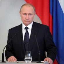 V. Putinas prisipažino neturintis išmaniojo telefono