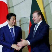Shinzo Abe ir Saulius Skvernelis