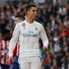 Madrido derbyje įvarčius mušė ryškiausios komandų žvaigždės