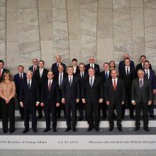 NATO: nuo Rusijos priklauso, ar bus išsaugotas nusiginklavimo susitarimas