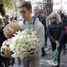 Bulgarija: televizijos žurnalistė V. Marinova palaidota Rusės mieste