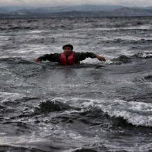 Viduržemio jūroje per chaotišką migrantų gelbėjimo operaciją mirė kūdikis