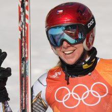 Kaip tai įvyko? Kalnų slidinėjimo rungtį Pjongčange laimėjo snieglentininkė