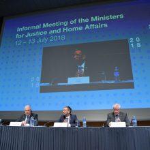 ES vidaus reikalų ministrai Austrijoje ieško bendro migrantų problemos sprendimo