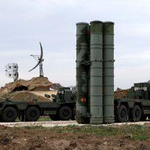 Turkija negaus JAV naikintuvų F-35, jeigu įsigis rusiškų raketų S-400