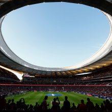 """2019-aisiais Čempionų lygos finalas vyks naujajame Madrido """"Atletico"""" stadione"""