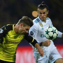 """Čempionų lyga: Madrido """"Real"""" pagaliau laimėjo Dortmunde"""