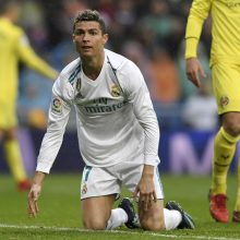 "Madrido ""Real"" krachas tęsiasi – nusileido ""Villarreal"""