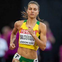 Bėgikė E. Balčiūnaitė varžybose Šveicarijoje – antra