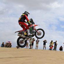 Lenktynininkas V. Žala pirmajame Dakaro ralio etape – 17-as