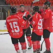 """""""Energijos"""" ledo ritulininkai lengvai įveikė """"Hockey Punks"""" ekipą"""
