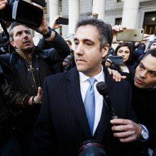 M. Cohenas: D. Trumpas žinojo, kad mokėdami moterims už tylėjimą elgėmės neteisingai