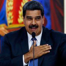 Venesueloje vyksta prezidento rinkimai, kuriuos, beveik neabejojama, laimės N. Maduro