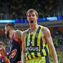 """Eurolygos čempionai nugalėjo """"Baskonia"""" krepšininkus"""