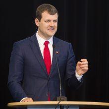 G. Paluckas: partija tikrai neįpareigos frakcijos Seime pasiskelbti opozicine
