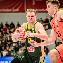 Lietuvos krepšininkai užsitikrino pirmąją vietą pasaulio čempionato atrankos grupėje